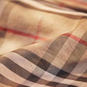 Burberry check fabric