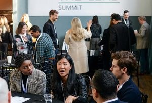 The inaugural Lead Summit took place at the Williamsburg Hotel in Brooklyn on Wednesday, October 24, 2018. Photograph by Casey Kelbaugh